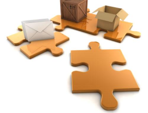 Proces konfekcjonowania w logistyce i transporcie.